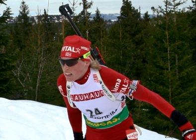 Tora Berger biathlon