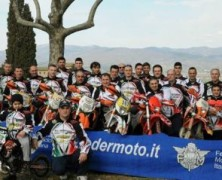 Cena di fine anno per il Moto Club Adventures di Anghiari