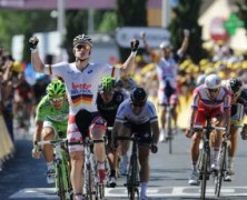Greipel re a Montpellier, Impey in giallo!