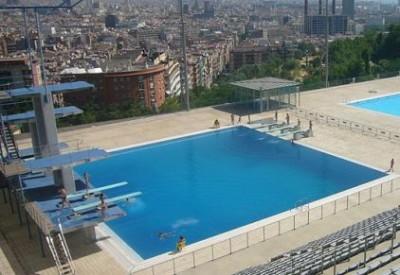 piscina mondiali Barcellona tuffi
