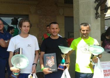 podio gara Anghiari 2013