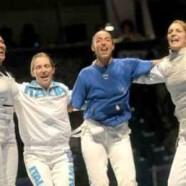Dream Team Italia nel fioretto donne!