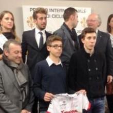 A Vincenzo Nibali il Giglio D'Oro!