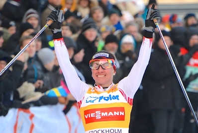 Justyna Kowalczyk vinner RPS 2013