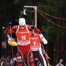 Doppiette di Svendsen e Domracheva