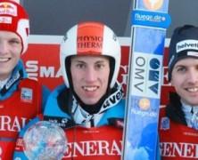 Diethart ha dominato la scena a Garmisch