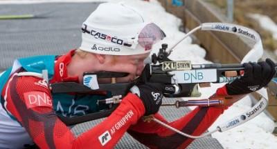 Johannes Boe in azione
