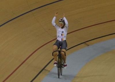 Kristina Vogel ciclismo pista