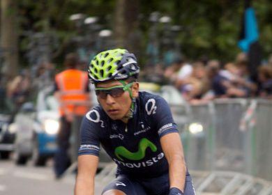 Nairo Quintana pre giro d'Italia