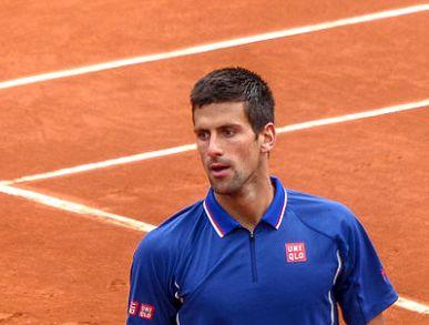 Novak Djokovic terra rossa