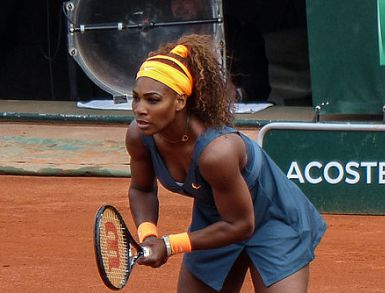 Serena Williams terra rossa