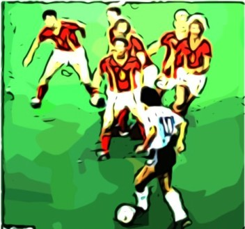 Maradona contro Belgio