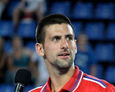 Novak Djokovic vincente