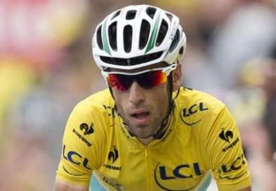 Vincenzo Nibali maglia gialla