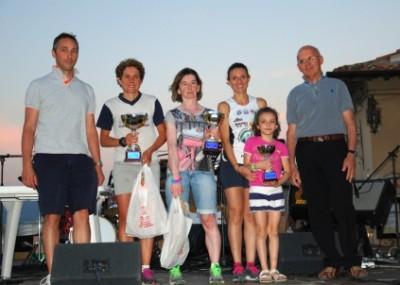 podio donne gara Anghiari 2014
