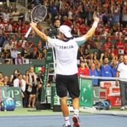 Semifinale Coppa Davis: L'Italia vince il doppio e torna in corsa