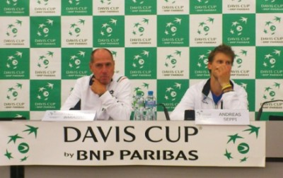 Conferenza stampa Barazzutti. Foto di Paolo Rossi