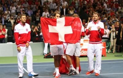 Svizzera batte Italia in semifinale. Foto di Brigitte Grassotti