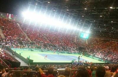 Ultimo giorno semifinale Coppa Davis. Foto di Paolo Rossi