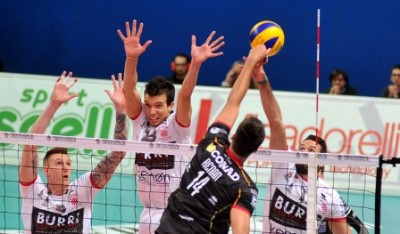 Altotevere - Ravenna SuperLega UnipolSai, foto Cirinei