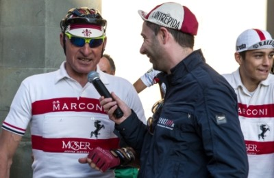 L'Intrepida 2014 intervista a Moser, foto Luigi Burroni