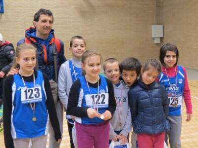 giovani atletica Avis 17 e 18 gennaio 2015