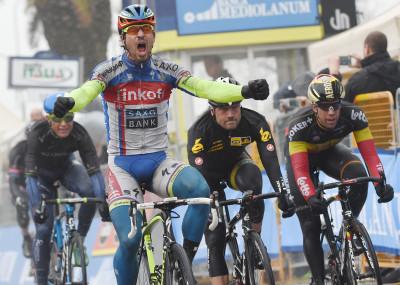 Ciclismo: Tirreno-Adriatico;Rieti-Porto Sant'Elpidio