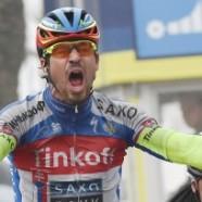 Fulmine Sagan festeggia a Porto Sant'Elpidio e firma la penultima tappa