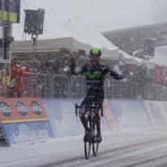 Quintana doma il Terminillo e trionfa in nella neve