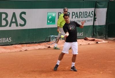 Fognini Roland Garros 2015, Foto Paolo Rossi 2