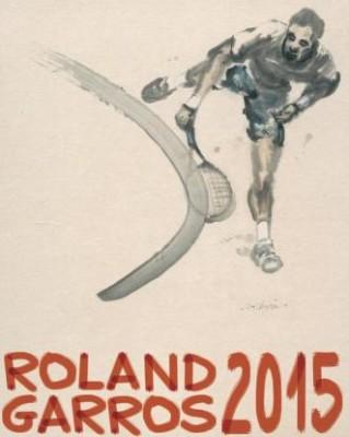 Affiche Roland Garros 2015 foto 2, Paolo Rossi