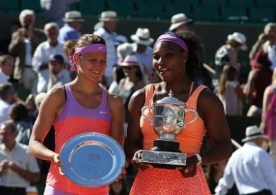 Williams batte Safarova e vince Roland Garros, foto Patrick Boren