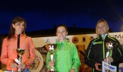 podio femminile Notturna 2015