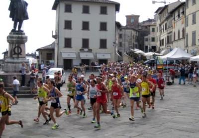 La partenza del Trofeo Fratres Città di Anghiari 2015, sportapp