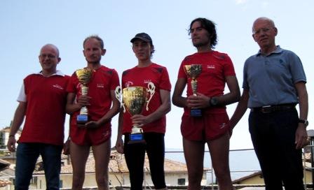 Podio Maschile Trofeo Fratres Città di Anghiari 2015