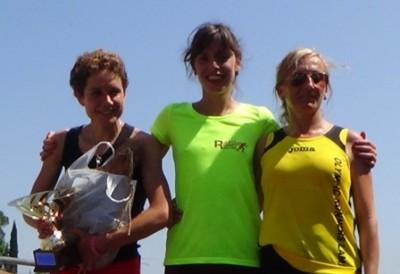 Podio femminile Trofeo Fratres Città di Anghiari 2015