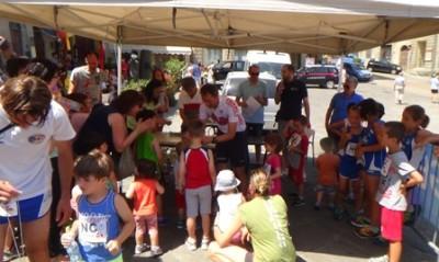Premiazioni bambini Trofeo Fratres Anghiari 2015, sportapp
