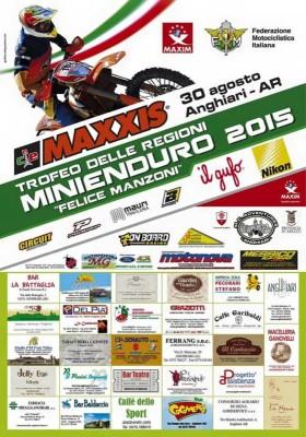 Locandina definitiva Coppa Regioni Mini Enduro 2015