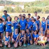 Buone prove dei giovani dell'Atletica Avis Sansepolcro a Castiglion Fiorentino