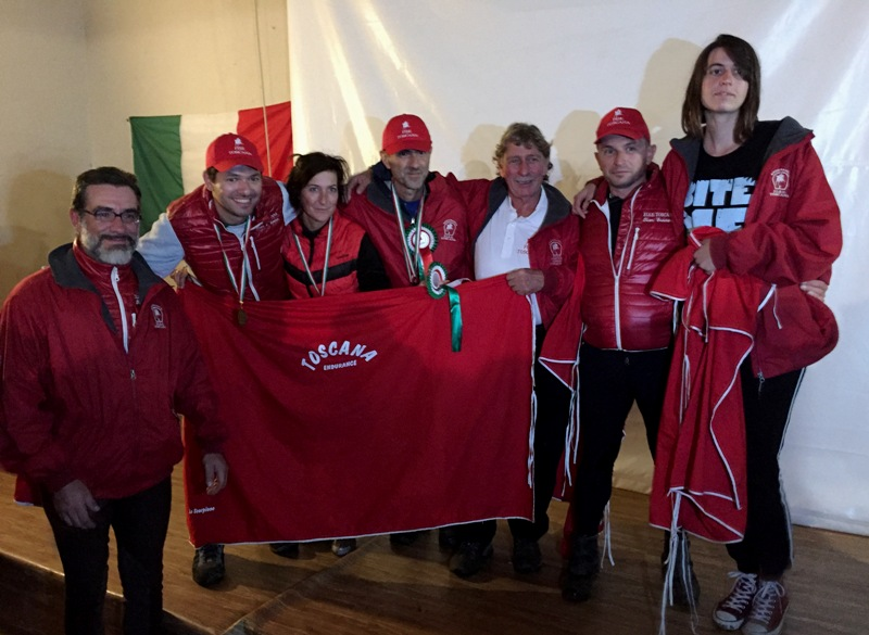 Toscana in festa Coppa Regioni Endurance 2015