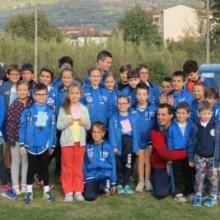 I giovani dell'Atletica Avis Sansepolcro al Memorial Annetti