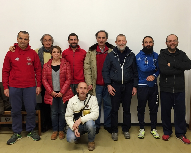 parte del gruppo di lavoro dell'Atletica Avis Sansepolcro