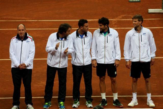 Italia Coppa Davis 2016, foto Paolo Rossi