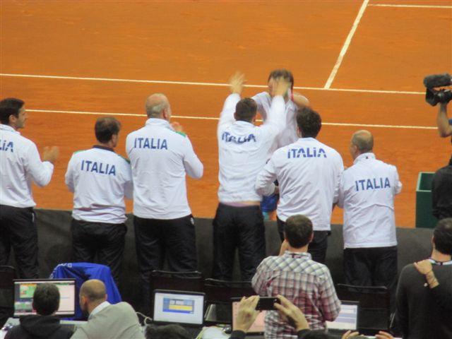 Italia-Svizzera Coppa Davis 2016, foto 6 Paolo Rossi
