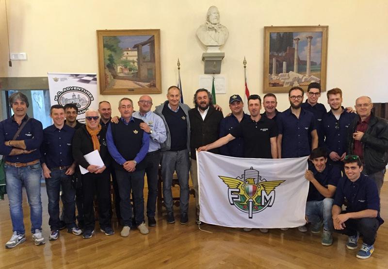 conferenza presentazione Camp Italiano Enduro Anghiari 2016 foto