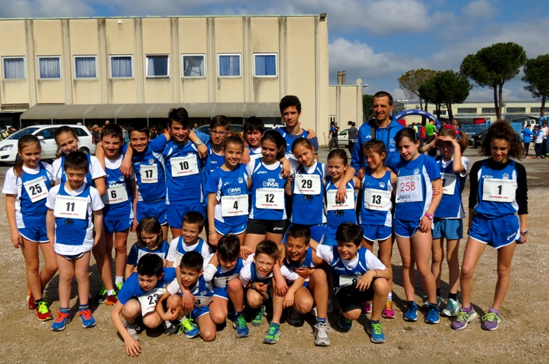 giovani Atletica Avis al 3° Trofeo Circolo Dipendenti Perugina