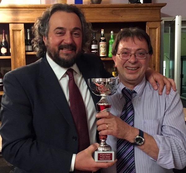 sportapp Il sindaco La Ferla premia il presidente de Il Giardino Piero Giorni