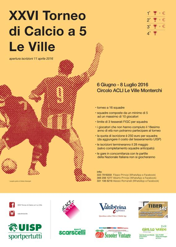 Locandina Torneo Le Ville 2016 1
