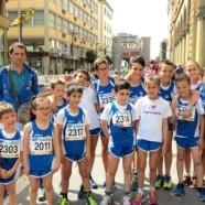 Ottimi risultati nella Scalata al Castello per i giovani dell'Atletica Avis