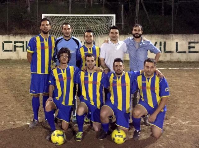 squadra vincitrice Torneo Calcetto Le Ville 2015